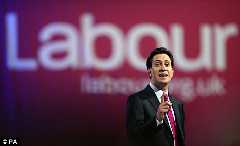'One nation': Ed Miliband used his Labour Party Conference speech to lay claim to the phrase first coined by Victorian PM Benjamin Disraeli