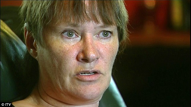 Allegations: The 69-year-old funnyman was first named by Karin Ward (pictured) when she spoke to the BBC's Newsnight reporters last year for a report which was never broadcast