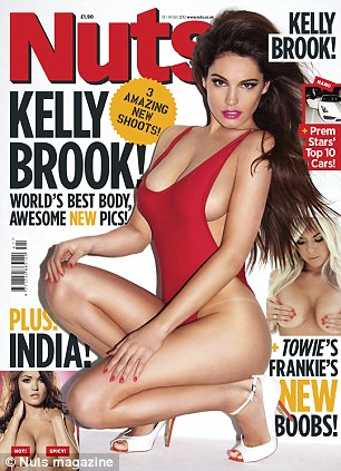 Candid chat: Frankie speaks about her surgery in this week's Nuts magazine