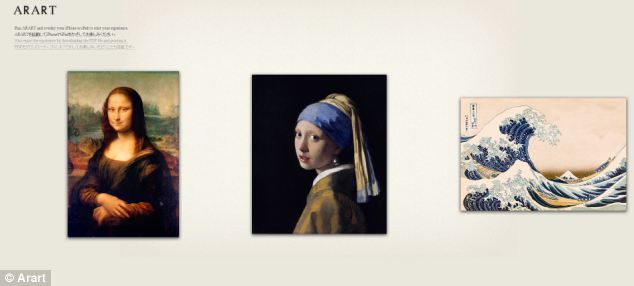 The app has made three of the interactive portraits available on its website, with more being developed with galleries.