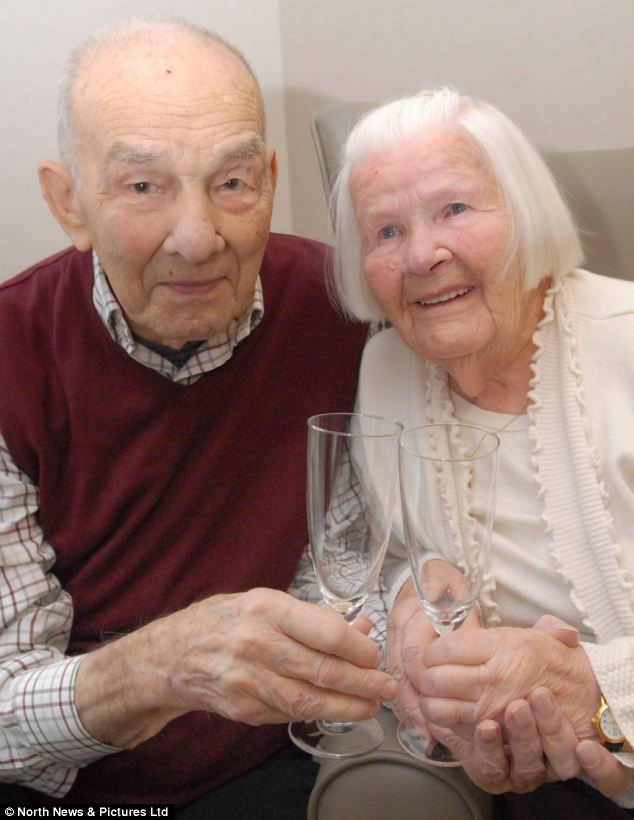 Tom and Ethel Husband (98 and 97 respectively), from Hebburn, South Tyneside, have proved that true love lasts after celebrating their 78th wedding anniversary