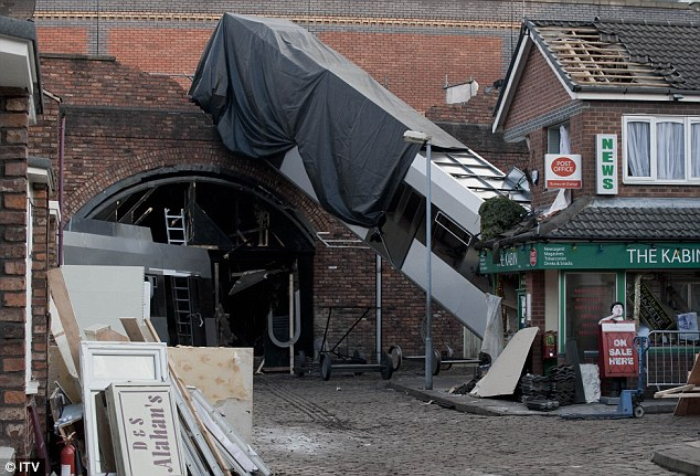 Back to Corrie: Blackburn will return to Coronation Street replacing Phil Collinson who was responsible for the tram disaster storyline