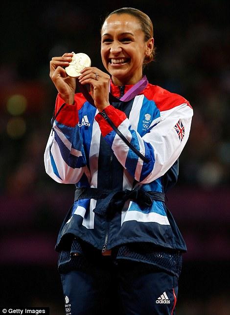 Olympic gold medallist Jessica Ennis