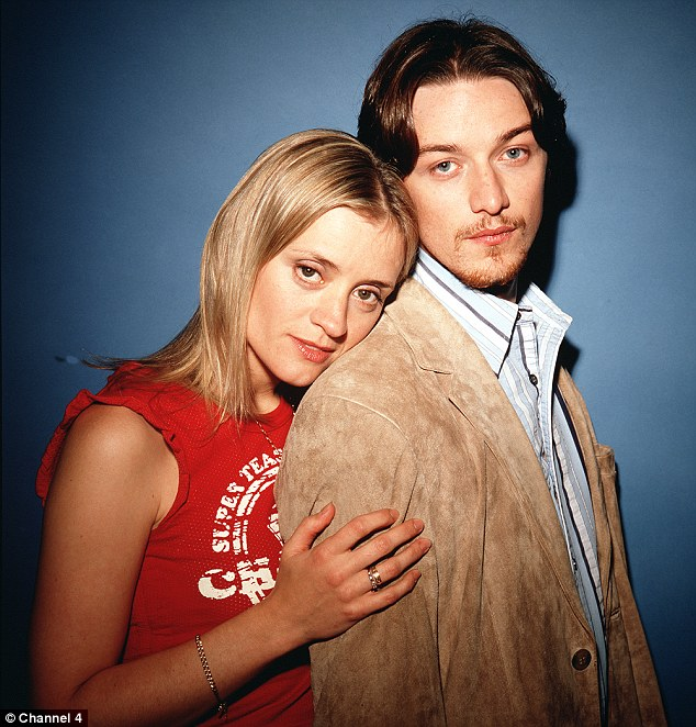 The Channel 4 show launched the career of Scottish Hollywood actor James McAvoy, shown here with Anne-Marie Duff
