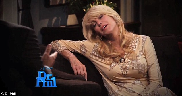 Unconventional: Dina shocked viewers with her recent bizarre appearance on Dr Phil's TV show