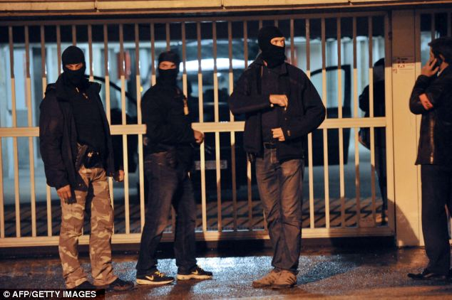 Terrorism: The police suspect the explosives found in the lock-up garages were owned by the same people arrested during an anti-terror operation conducted three days ago