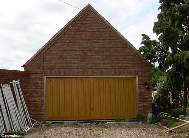 Carol Jones, 46, built the plush two-storey house