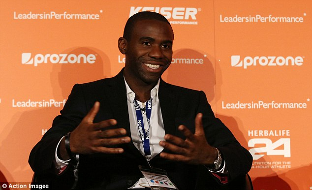 Setting out his stall: Muamba said watching football can be a frustrating experience