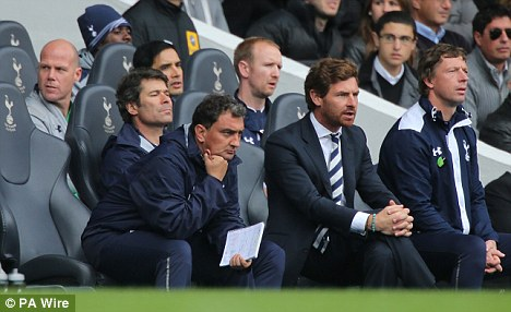 Uncertainty: Brad Friedel is set to be recalled to the Tottenham side by AVB