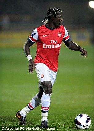 Return: Sagna is stepping up his recovery bid