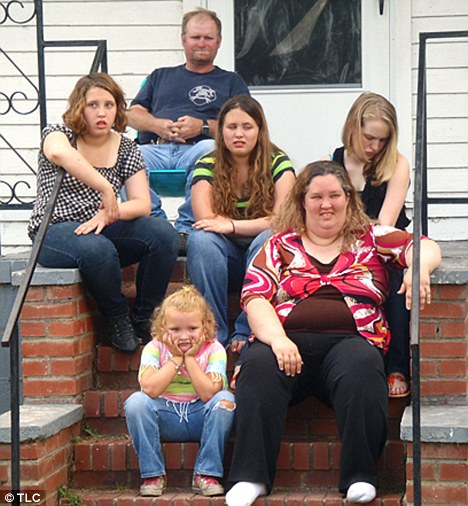 Round-the-clock surveillance: The security measure is believed to be in response to an alleged plot to abduct the seven-year-old reality star Honey Boo Boo