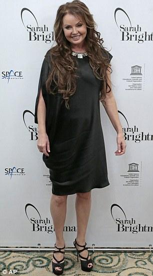 British soprano singer Sarah Brightman
