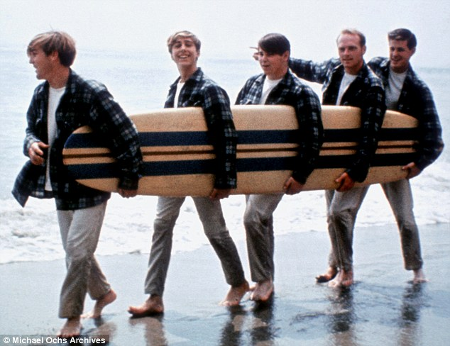 Reuniting: The surviving founding members of the Beach Boys are celebrating their 50th anniversary with a 50-date tour and new album