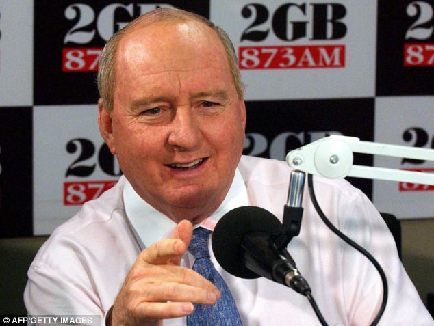 Popular radio DJ Alan Jones announced on his show that women in power were 'destroying the joint', fuelling a national debate around the extent of sexism still apparent in the country