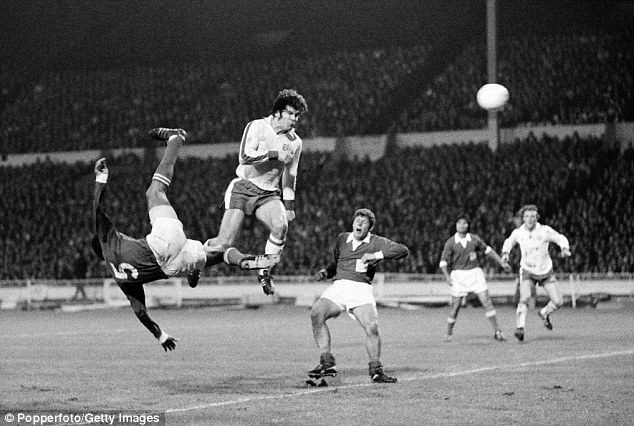 Mac the knife: Malcolm Macdonald thunders in one of his five