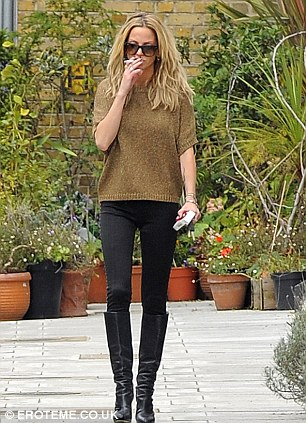 Sarah Harding looks slim ahead of the upcoming Girls Aloud reunion