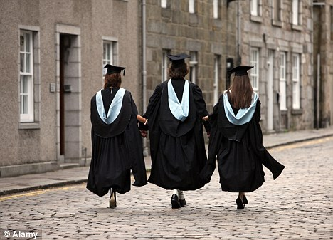 Tens of thousands of graduates are accepting menial jobs as bosses want employees to have a degree for menial work