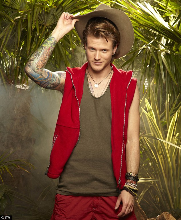 Personal demons: I'm A Celebrity... Get Me Out Of Here! winner Dougie Poyner admitted he attempted suicide last year