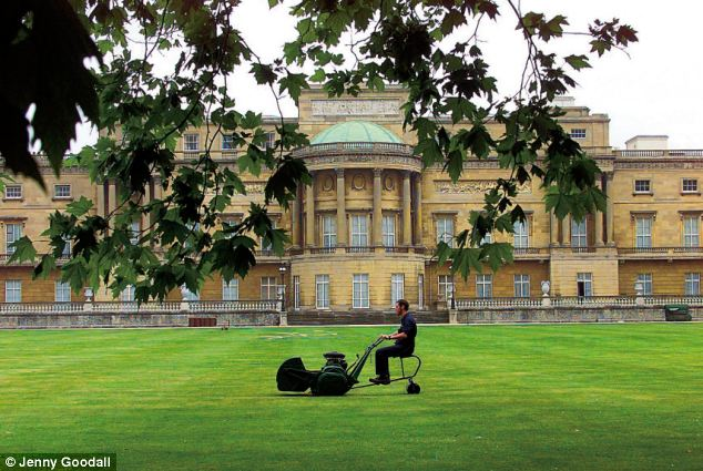 The new gardener is expected to maintain the Palace gardens to a 'high standard', as well as a range of other duties. (file picture)