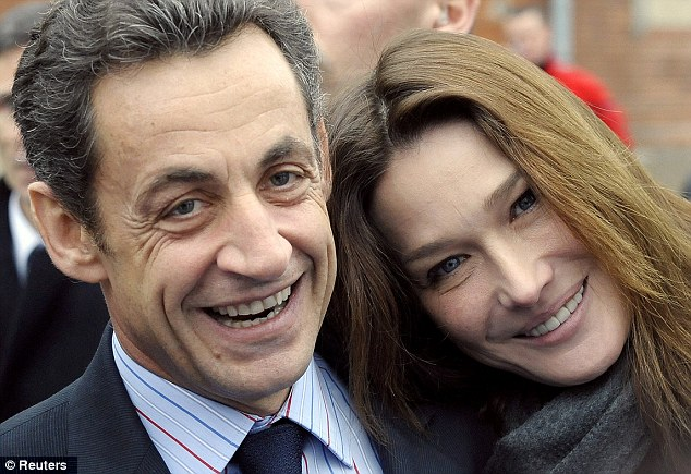 Former President Nicolas Sarkozy was linked to a number of women before marrying his second wife Carla Bruni-Sarkozy