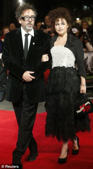 It was the Opening Night gala movie at the BFI London Film Festival which Tim Burton and partner Helena Bonham Carter attended