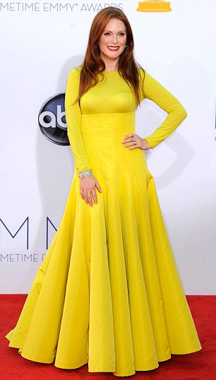 Winning: Julianne took home the prize for Best Actress in a Miniseries or Movie for Game Change at last month's Emmys
