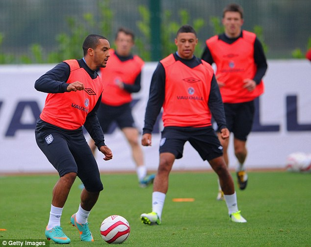 Wing kings: Theo Walcott and Alex Oxlade-Chamberlain are set to start