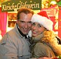Couple at a Christmas market