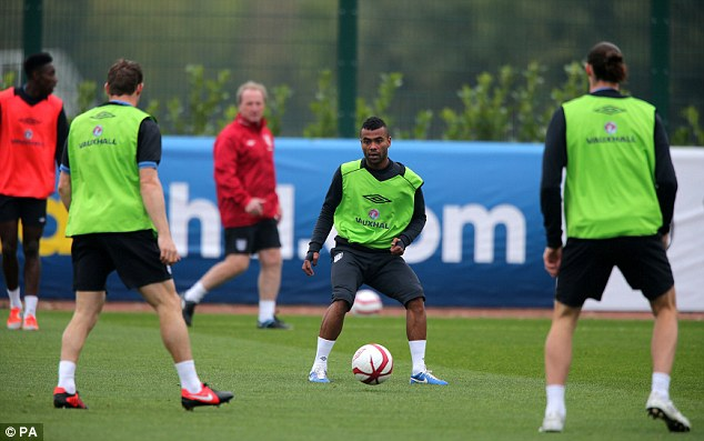Storm: Ashley Cole has been involved in Twitter controversy recently