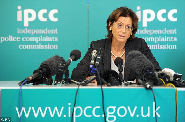 Probe: Deborah Glass, deputy chair of Police watchdog the Independent Police Complaints Commission (IPCC), reveals police will be investigated over the Hillsborough disaster