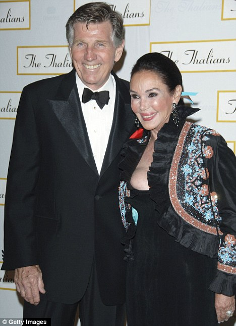 Separated: Collins and wife Mary Ann Mobley attend the 51st Annual Thalians Ball at the Hyatt Regency Century Plaza Hotel in 2006