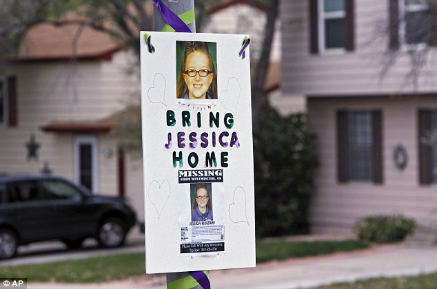 Desperate: The close-knit community in the Denver suburb had banded together to find the youngster