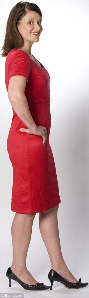 Lydia Slater wearing Perfect Poise Underwear
