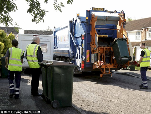 38 per cent of all incidents involving refuse crews resulted in physical violence