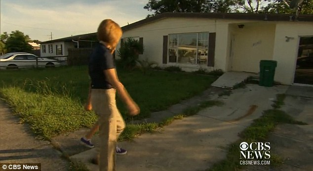 Willow shows off her new home bought for a knockdown price because of Florida's foreclosure crisis to a CBS News reporter