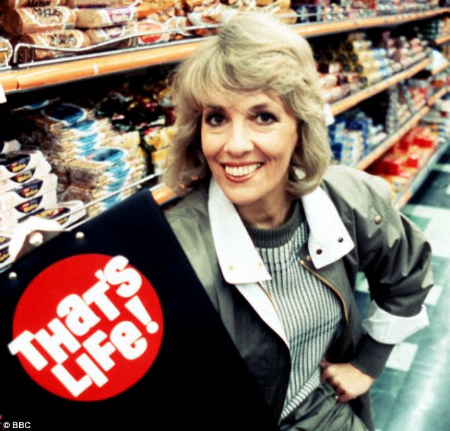 Founder: Ms Rantzen, who presented on television show That's Life, founded ChildLine in 1986