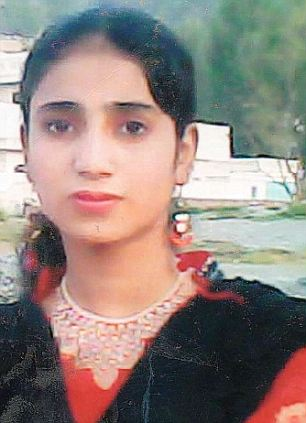 Speaking out: Shazia Razman, 14, was shot twice at the same time as her best friend Malala Yousafzai (inset) who is now in hospital