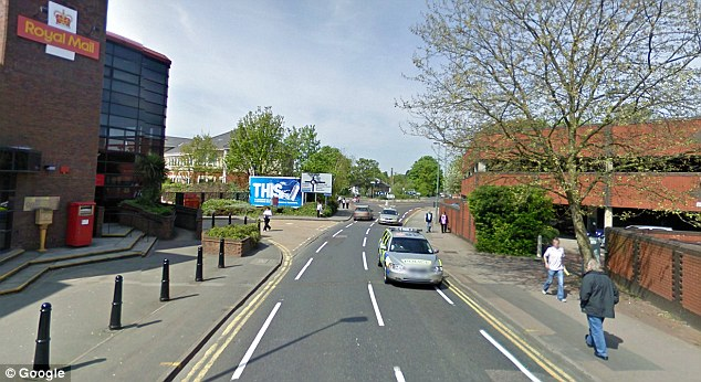 Week Street in Kent where Mr Phlamachha was pushed up against the wall by a robber and ordered to hand over cash