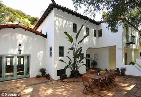 Mansion: Frances Bean's Hollywood Hills mansion