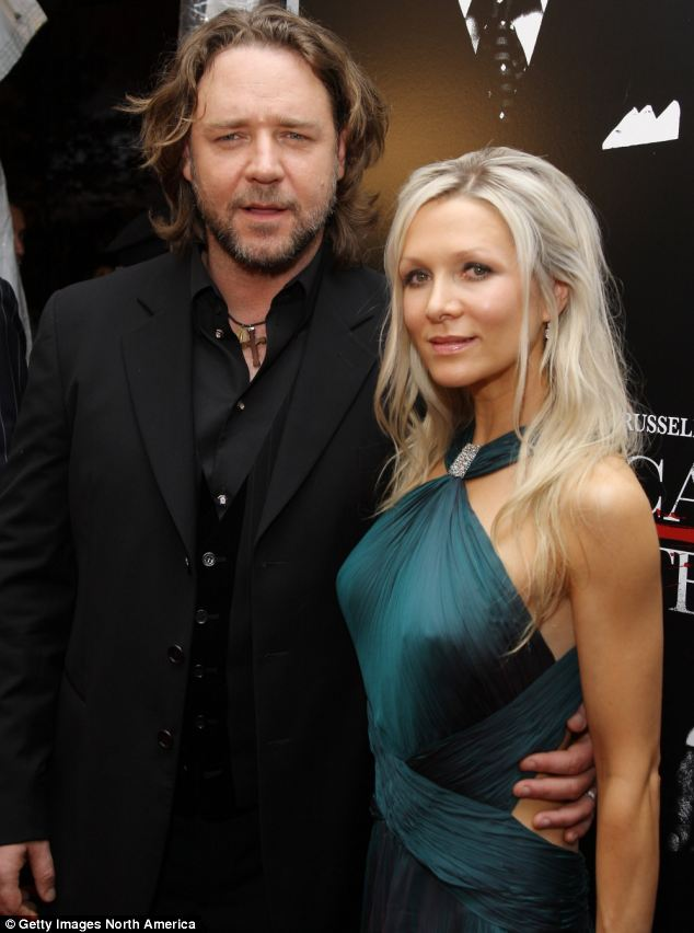 Split: Actor Russell Crowe and his wife Danielle Spencer met 22 years ago