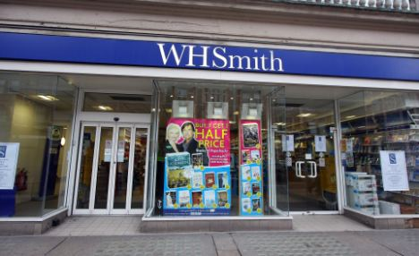 WH Smith said it is enforcing the new restriction even though it is legal for children to own a gun licence