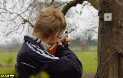 While children under 14 cannot own or buy a gun, they are legally able to apply for a licence that allows them to use one