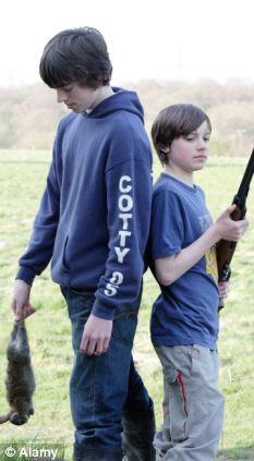 Animal Rights organisation Animal Aid said shooting magazines promote violence
