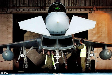 BAE Systems is building 48 Eurofighter Typhoon aircraft for Saudi Arabia at a price of £7bn