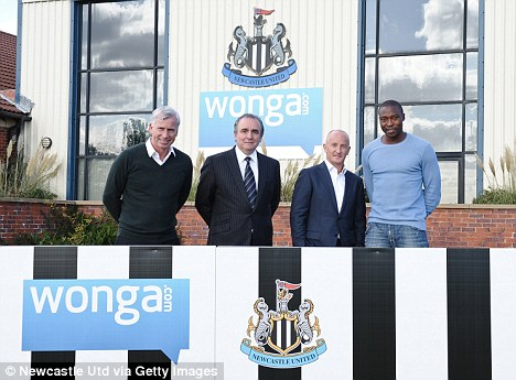 Controversy: Many fans have expressed unease at new sponsors Wonga