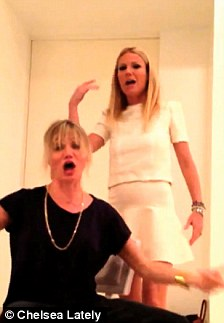 Yo yo yo! Cameron and Gwyneth Paltrow jokingly rapped about their pal Chelsea Handler in honor of the late night host's new revamped E! studio last week