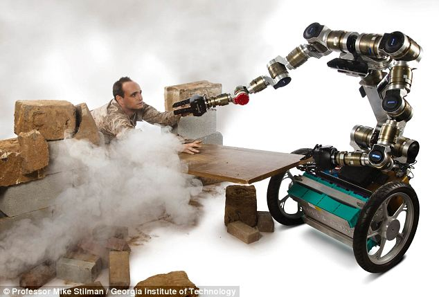 Intelligent machine: New research hopes to give robots the same problem-solving skills as Eighties TV hero MacGyver, who was able to improvise with everyday objects to get himself out of the stickiest situations