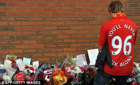 Memorial: The Attorney General will apply to the High Court for a new inquest into the deaths of 96 people at the Hillsborough tragedy
