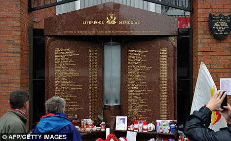 Memorial: The Attorney General will apply to the High Court for new inquests into the deaths of 96 people at the Hillsborough tragedy