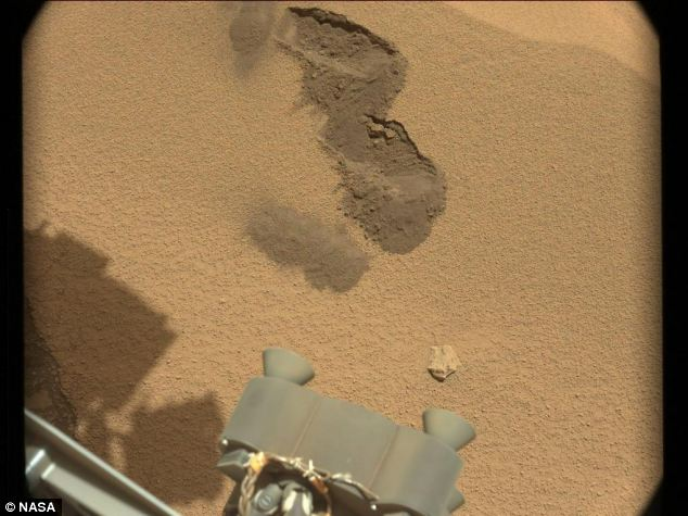 Signs of life? Curiosity is capable of identifying organic compounds - carbon containing substances that could indicate life on Mars